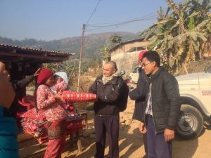 Emergency Blankets Distributed (2)